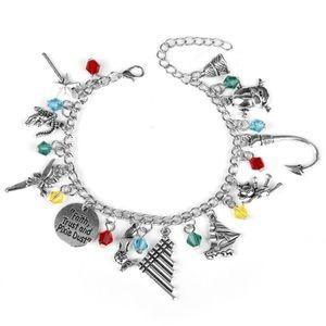 ⭐️2/$25 Peter Pan Disney inspired Charm Bracelet